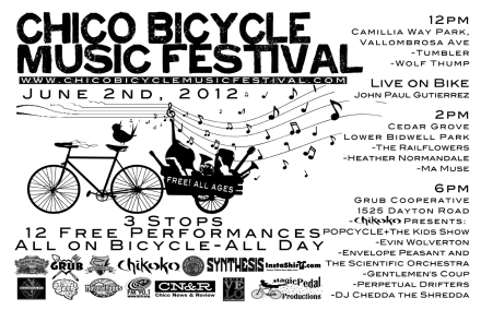 Chico Bicycle Music Festival 2012