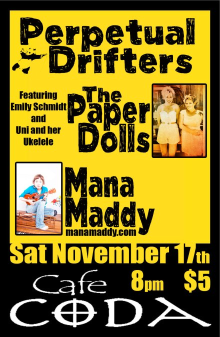 perpetual drifters mana maddy the paper dolls
